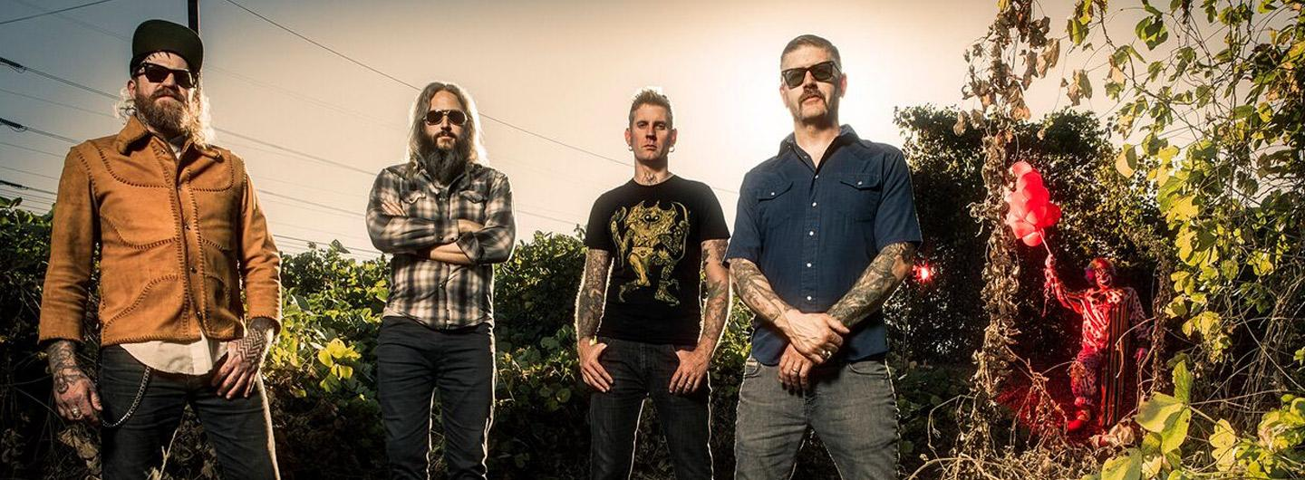 Members of the band Mastodon