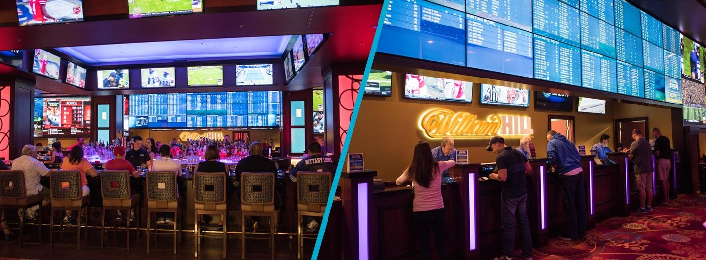 The Sports Book at the Silver Legacy