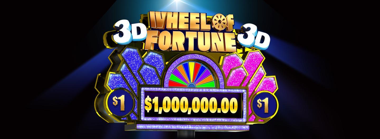 Wheel of Fortune 3D Logo
