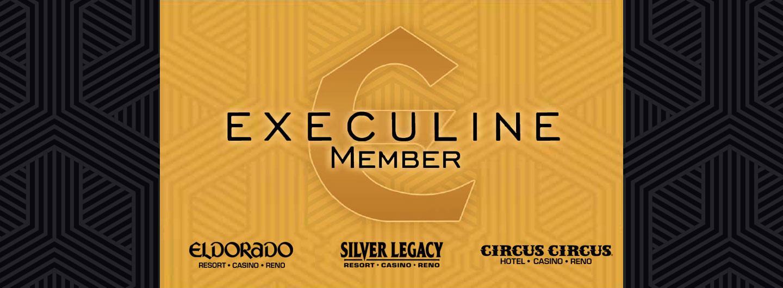 Execuline Logo with Eldorado, Silver Legacy, and Circus Circus Logos