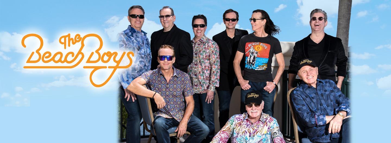 The Beach Boys band members posing
