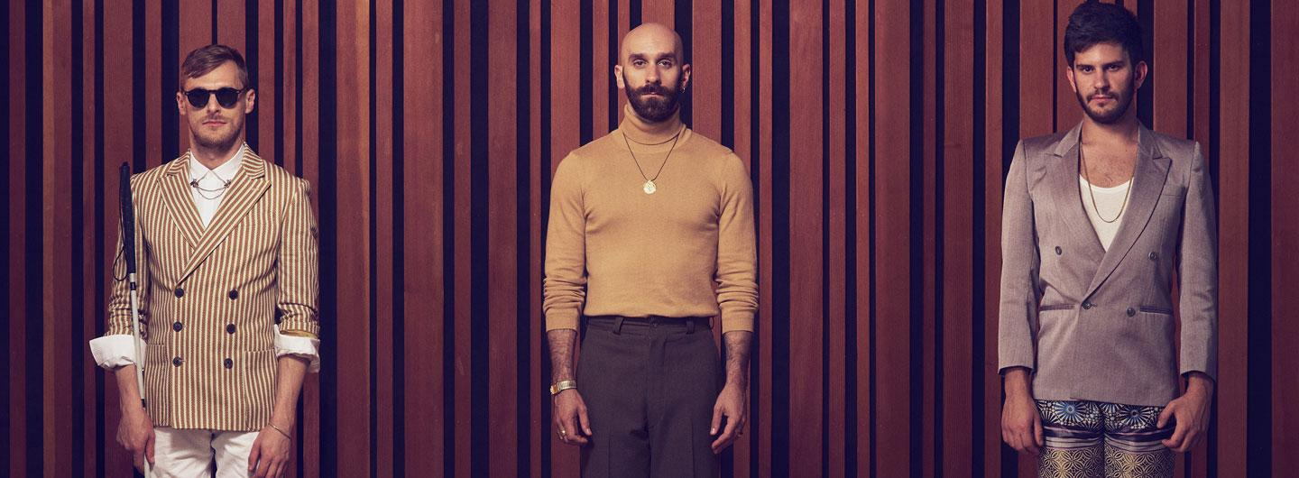 X Ambassadors band members posing