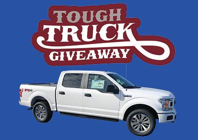 80K Tough Truck Giveaway