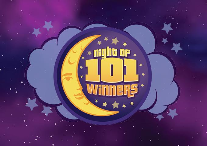 NIGHT OF 101 WINNERS IMAGE