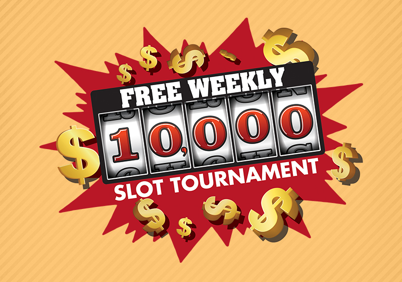 $10,000 FREE WEEKLY SLOT TOURNAMENT - Every Tuesday this month