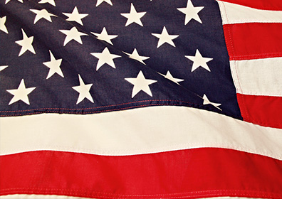 Picture of the United States flag