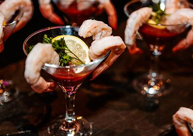 photo of shrimp cocktail