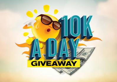 10K A DAY GIVEAWAY