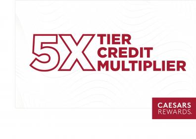 5X Tier Credit Multiplier