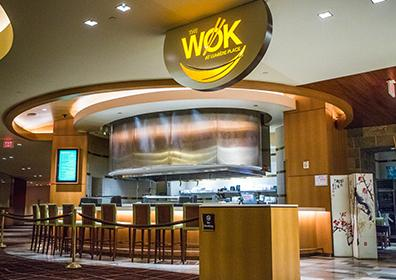 picture of entrance to the Wok