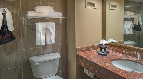 Picture of a suite bathroom