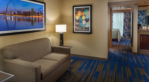 Picture of Queen Suite Living area