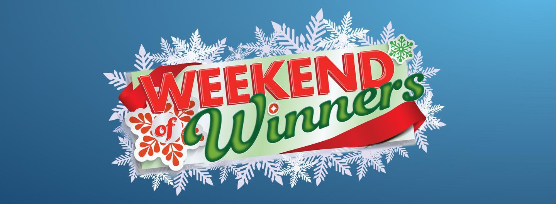 Weekend of Winners logo