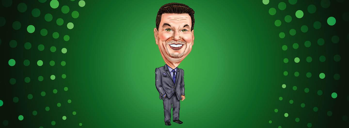 BRIAN CARICATURE FIRED UP