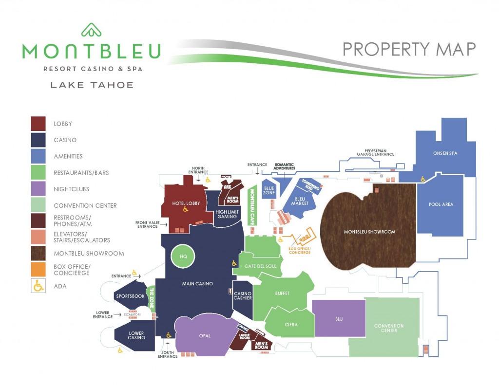 tahoe casinos map