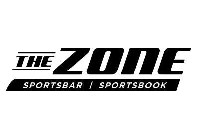 WHITE BACKGROUND WITH THE ZONE LOGO