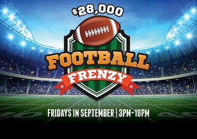 $28,000 Football Frenzy