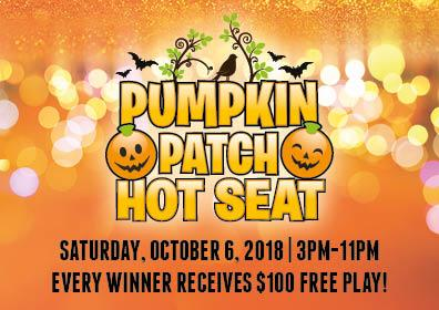 Pumpkin Patch Hot Seat