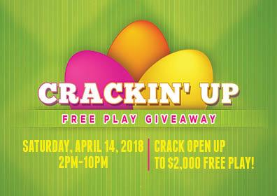 Crackin' Up Free Play Giveaway
