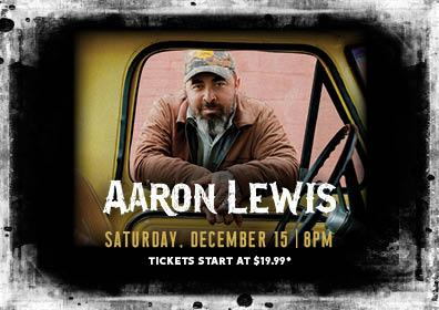 Aaron Lewis looking through truck window