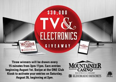 $30,000 TV & Electronics Giveaway