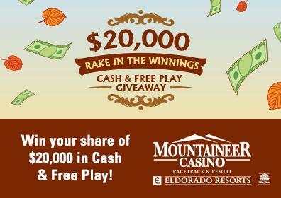 Mountaineer casino gift certificates meadows gaming casino fraud
