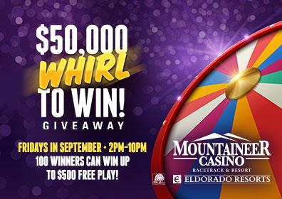 $50,000 Whirl to Win
