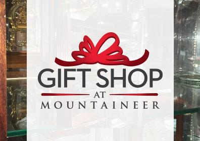 Gift Shop Logo with store image on both sides