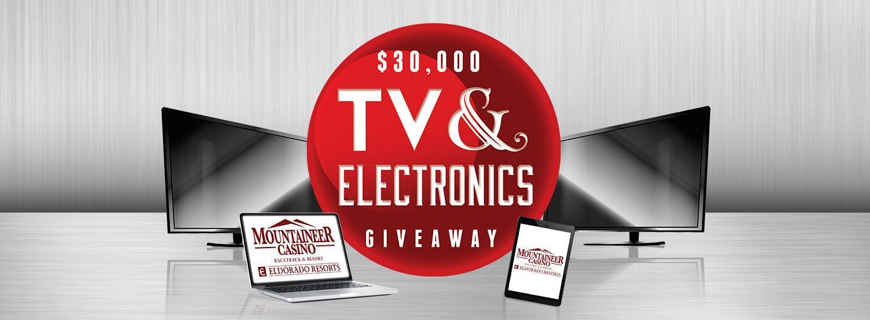 $30,000 TV & Electronics Giveaway