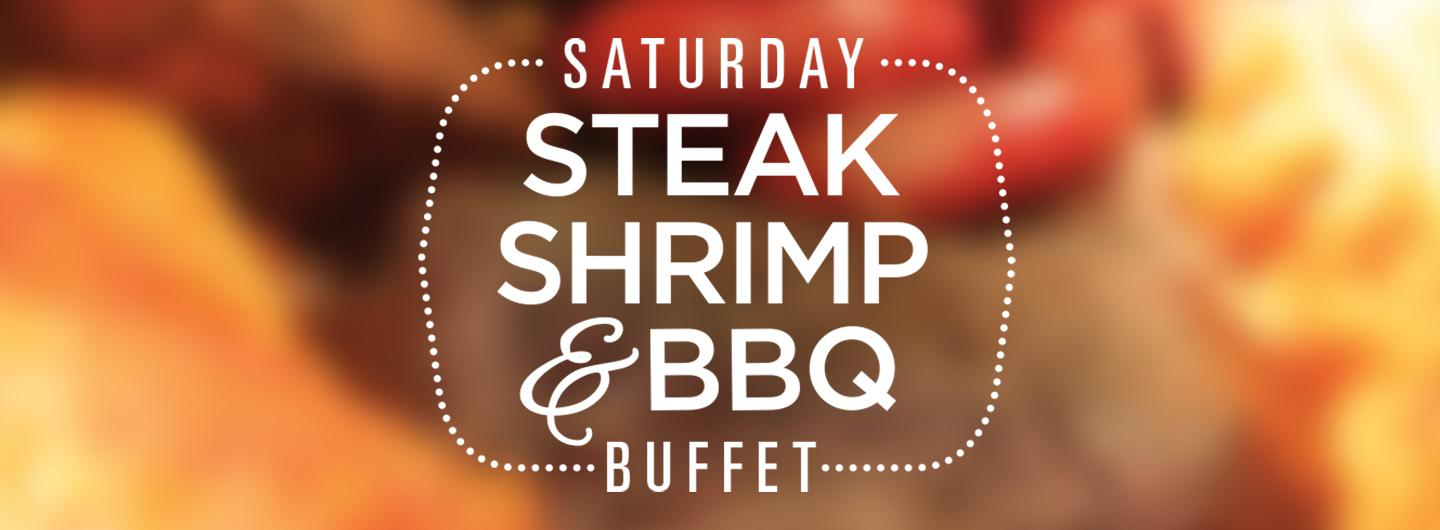 Steak, Shrimp & BBQ Buffet Logo