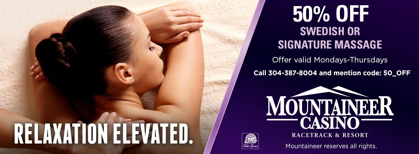 Spa 50% Off