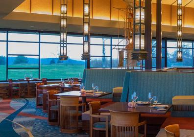 restaurant at Nemacolin Woodlands Resort