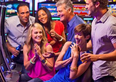 people winning at the casino