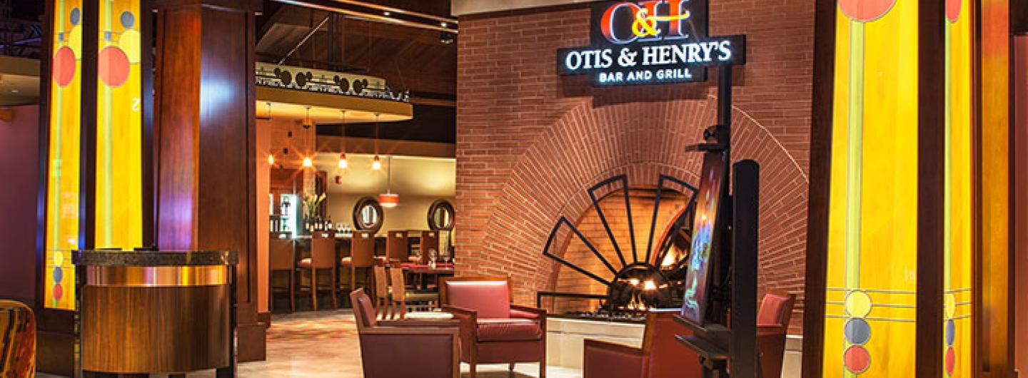 exterior view of Otis & Henry's® Bar and Grill