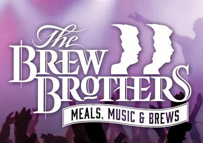 The Brew Brothers August Entertainment Advertisement