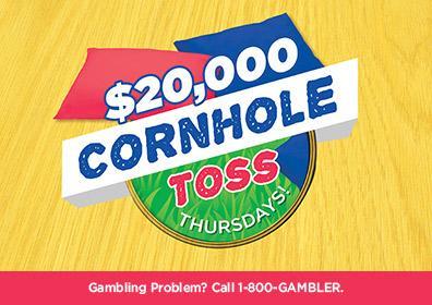 cornholl toss