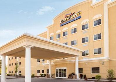 Looking towards Baymont Inn & Suites near Presque Isle Downs & Casino