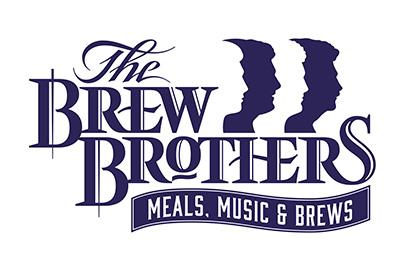 The Brew Brothers Logo in blue