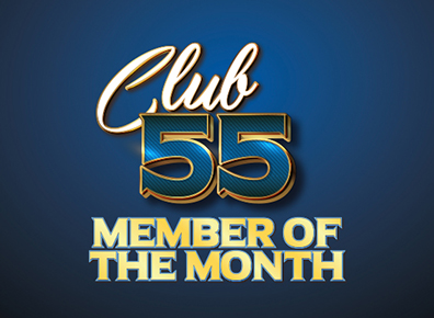 Club 55 Member of the Month