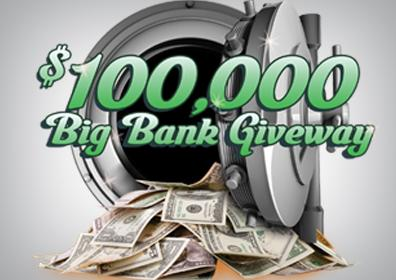 Big Bank Giveaway