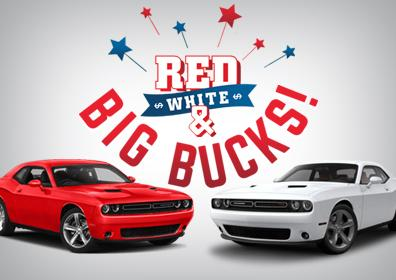 Red, White & Big Bucks!