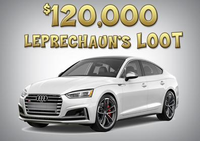 $120,000 Leprechaun's Loot