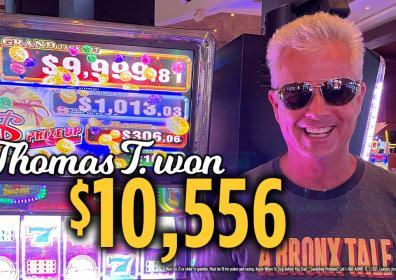 Thomas Jackpot Winner