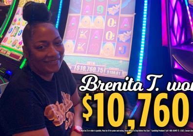 Brenita Jackpot Winner