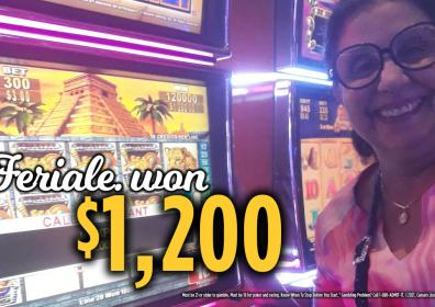 Feriale Jackpot Winner