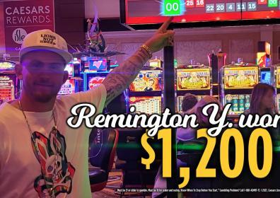 Remington Jackpot Winner