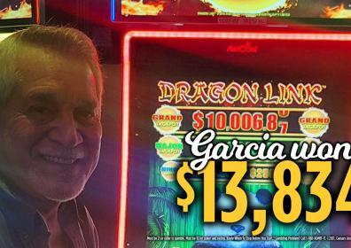 Garcia Jackpot Winner