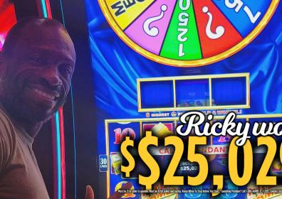 Ricky Jackpot Winner