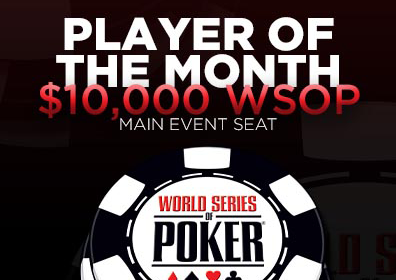 WSOP Player of the Month