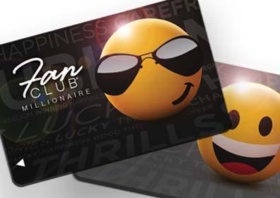 MIL Platinum fan club cards